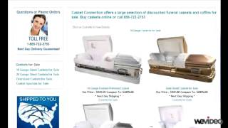 Save money on funeral costs, buy cheap caskets online
