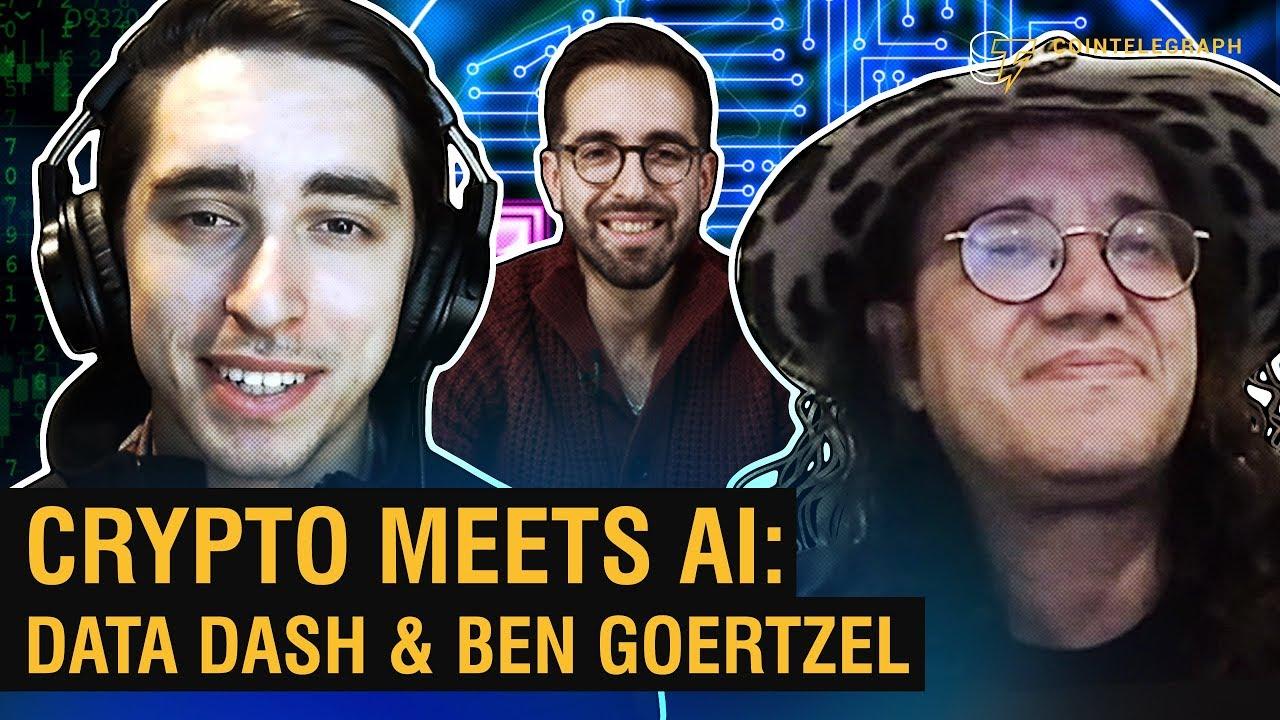 Crypto Meets AI: Data Dash & Ben Goertzel