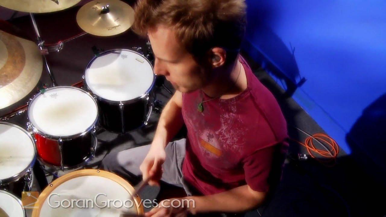 Goran Rista playing a shuffle Funk groove.