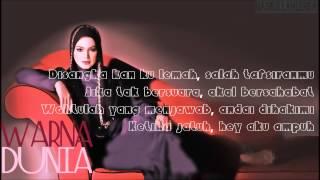 Cover images Dato' Siti Nurhaliza-Warna Dunia lirik