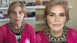 MATURE SKIN MAKEUP TUTORIAL: how to cover age spots, eye lift | JASMINHUERTA