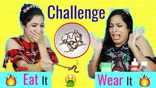 EAT It or WEAR It Challenge ... #MyMissAnand #Anaysa #ShrutiArjunAnand