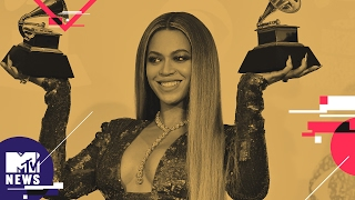 Adele is Beyoncé's Biggest Fan | 2017 Grammy Awards | MTV News