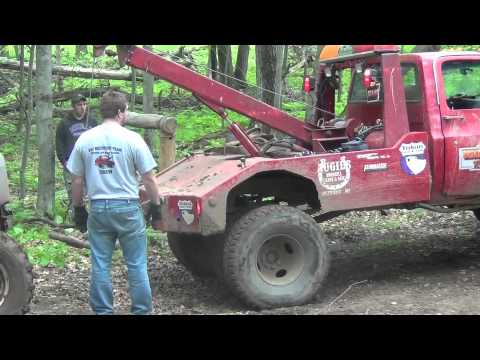 DODGE BROKEN OFF ROAD TOW OUT by BSF Recovery Team - YouTube