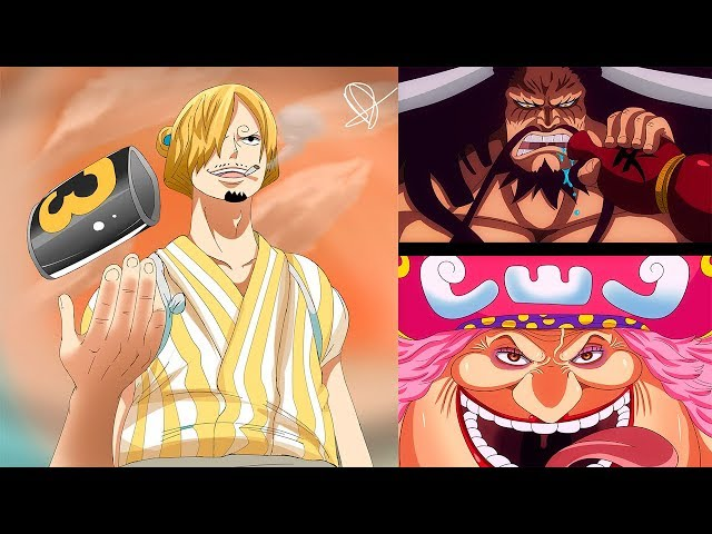 ONE PIECE REVIEW 930 | ¡BIG MOM LLEGA A WANO! | SANJI SE PREPARA PARA USAR EL TRAJE DEL GERMA