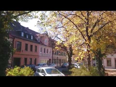 Erlangen, small loveley town. (Xperia Z2 4K video)