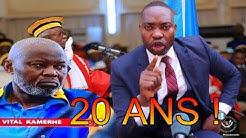 DECRYPTAGE ET RESTITUTION DE LA PLAIDOIRIE PROCES KAMERHE:POURQUOI 20 ANS ? RENE DE L 'UDPS DU 12/06