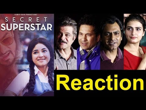 Bollywood Celebs Reactions On Aamir Khan's Secret Superstar Movie