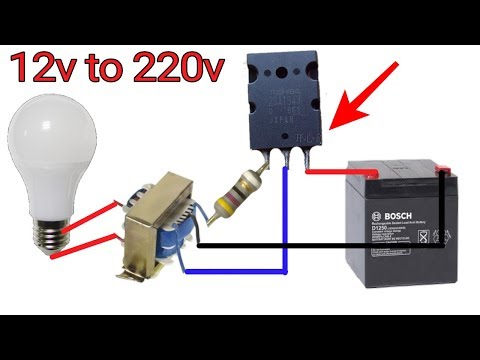 how-to-make-12v-to-220v-inverter