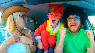 We are in the Car | Let's dance kids story with Timko Kid family