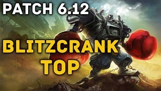 FULL AD Blitzcrank Top - Full Game Commentary (League of Legends)
