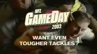 NFL GameDay 2003     Retro Commercial   Trailer    2002   SCEA