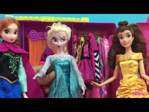 Frozen Full Movie in English! Disney Elsa Anna Dolls Makeover Pool Party Elsa Baby!