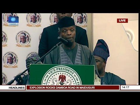 Commissioning Of Obasanjo Presidential Library (Osinbajo Speaks) Pt 12