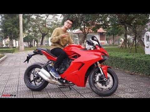 DUCATI SUPERSPORT - Chiếc sportbike đủ sức gây nghiện cho bất cứ ai cầm lái.