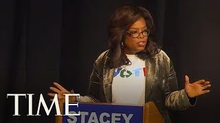 Oprah Supports Stacey Abrams For Georgia Governor In Rare Campaign Appearance | TIME