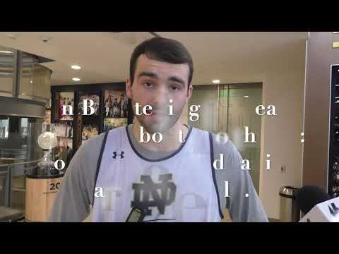 John Mooney On Team Morale After 88-87 Win Over Syracuse