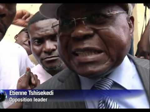 ELECTION RD CONGO : vote + interview d'etienne tshisekedi