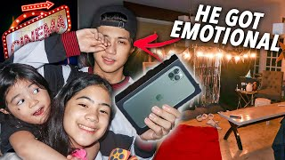HAPPY BIRTHDAY BRO Surprise!! (IPhone 11 Pro Max + Home Cinema) | Ranz and Niana
