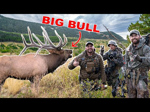 WYOMING ELK w/Born and Raised Outdoors!!! – (We FOUND a BIG BULL!)
