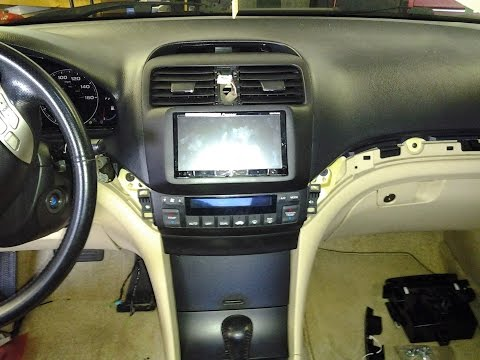 2004 To 2008 Acura TSX Custom Upper Dash Kit For Dbl Din With Pics And Video Pirate 1979