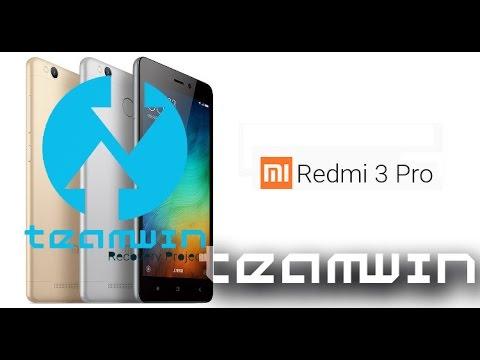 [TUTORIAL] Cara Memasang TWRP Xiaomi Redmi 3 / Pro