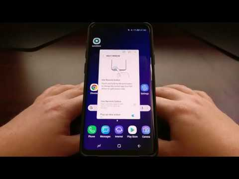 How to Use the Galaxy S9 Floating Window Feature   Android