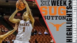 Sug Sutton | 15.5 points and 5.5 assists