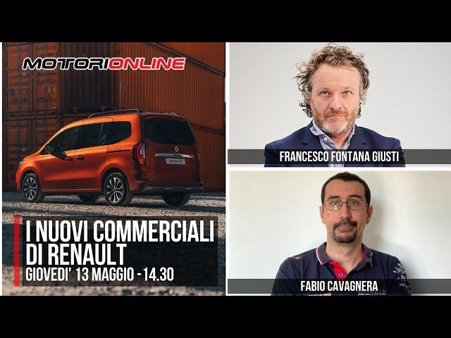 NUOVI VEICOLI COMMERCIALI RENAULT 2021 | Intervista con Francesco Fontana Giusti