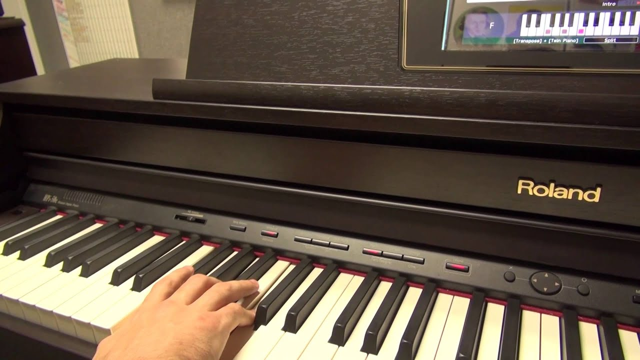 Roland HPi 50e Tutorial Digital Piano Demonstration