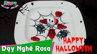 Trang trí bánh kem sinh nhật phong cách ngày ma quái - Halloween cake