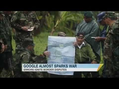 Incorrect Google Map Sparks Controversy