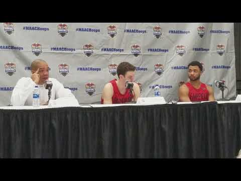 FAIRFIELD Post MAAC Final Iona: Coach, Player Comments
