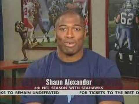 Jalen Rose On Best Damn W/ Shaun Alexander Sep 14 2005 PT2