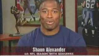 Jalen Rose On Best Damn W/ Shaun Alexander Sep 14 2005 PT2
