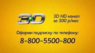 """Пакет премиальный  """"НТВ-ПЛЮС 3D"""" (канал с объемным телевидением)"""