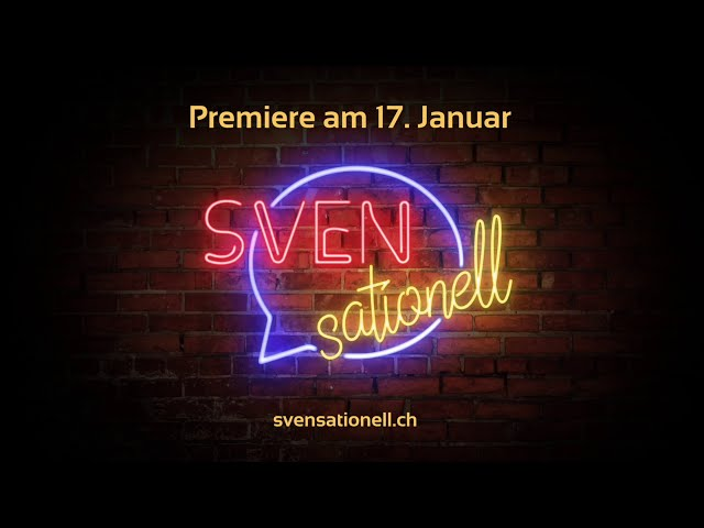 SVENsationell Trailer - die Premiere