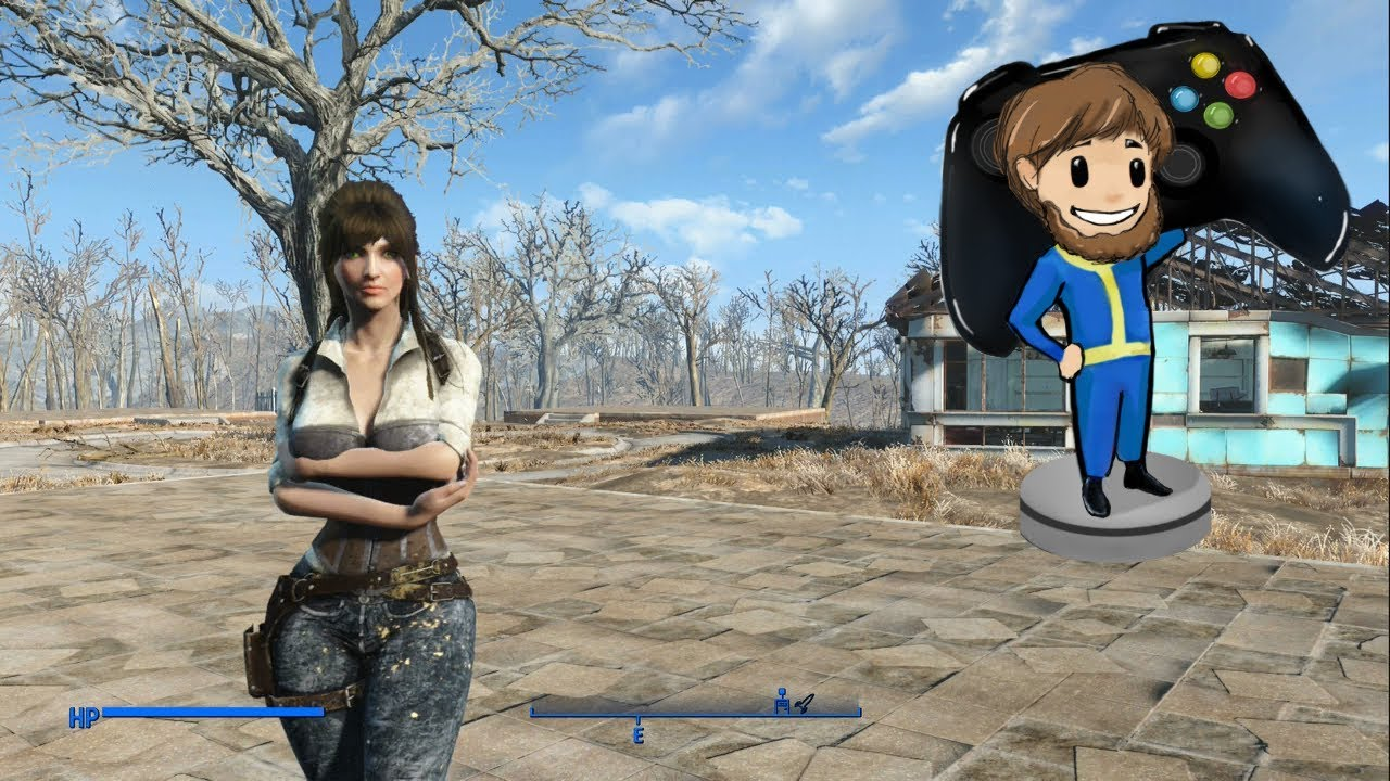 Fallout 4 Mod of the day: Evil Detective Outfit - CBBE Curvy Female