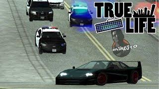True Life (MTA:SA) POŚCIG POLICYJNY  (test policji na serwerze)