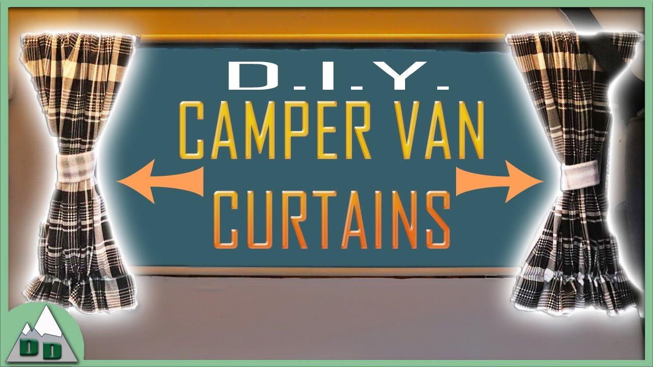 CAMPER VAN CURTAINS | D.I.Y.