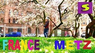 Франция Мец Прогулка FRANCE Metz 2016(Гуляем по городу МЕЦ Очень красивый и исторический город Walking through the city Metz FRANCE very beautiful and ancient city Подписывайт..., 2016-04-17T16:40:50.000Z)
