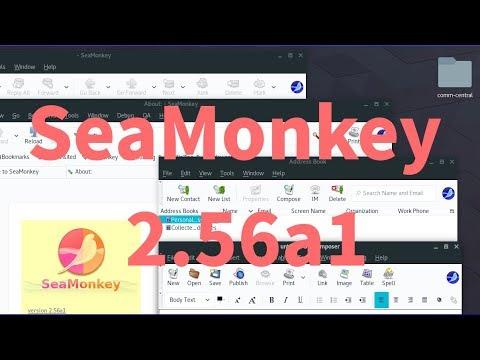 SeaMonkey 2 56a1 su Arch Linux