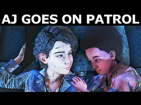 AJ Goes On Patrol Or AJ Stays With Clementine - The Walking Dead Final Season 4 Episode 2 Mp3
