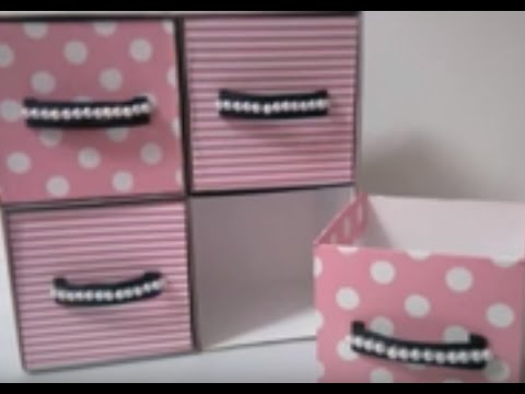 DIY #15 | Cute Mini Drawer ♥