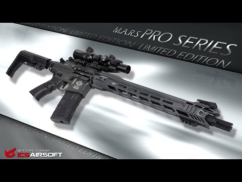 [Review] ICS MARS PRO-Series 2019 (Limited Edition) 6mm S-AEG Airsoft/Softair Test (German,DE)