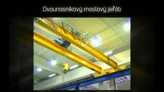 Repeat youtube video Dvounosníkové mostové jeřáby od firmy JASS a. s.