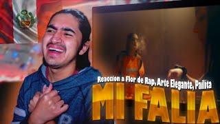 Peruano Reacciona a    Flor de Rap, Arte Elegante, Pailita - Mi Familia (Video Oficial)