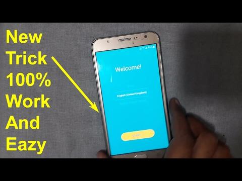 Samsung J7 J76 J5 Google Account Verification Google Lock Gmail Bypass Frp Eazy 100%