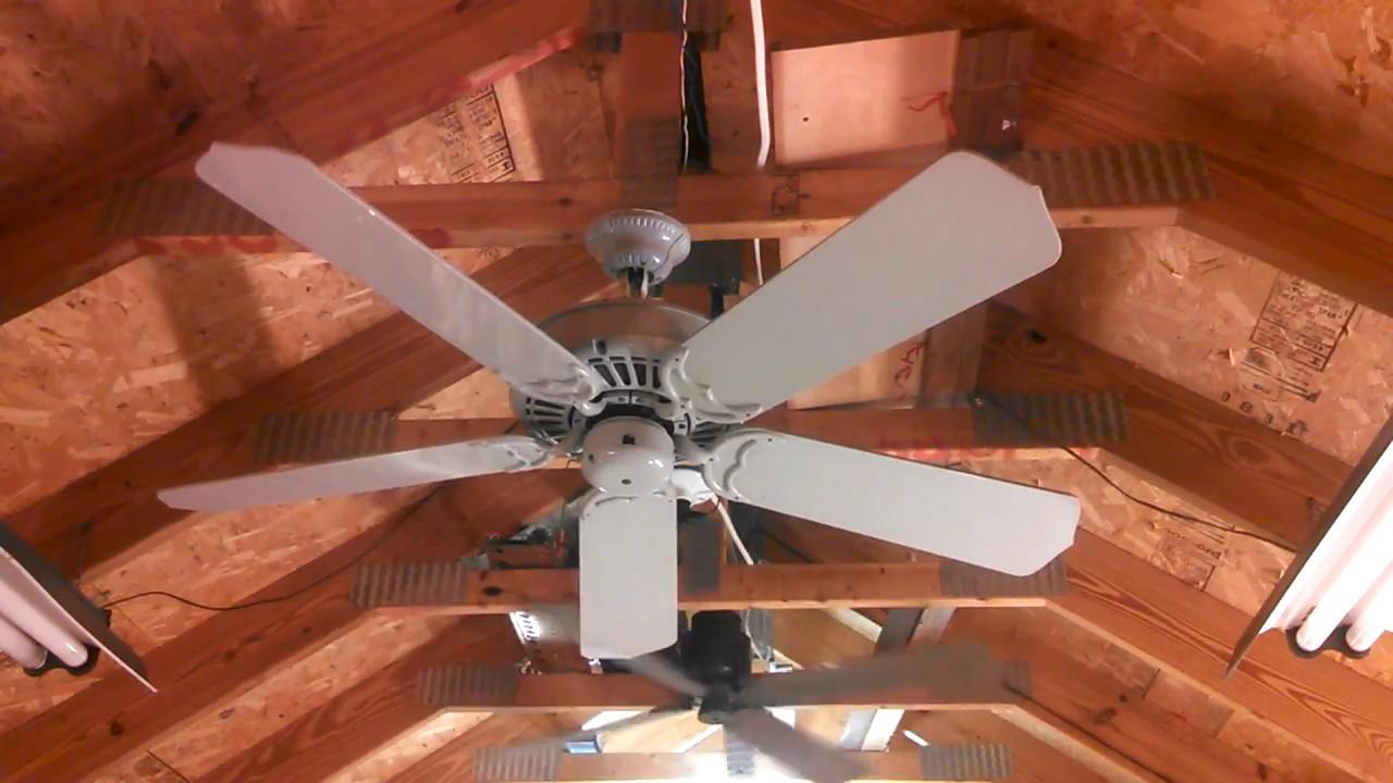 Casablanca Delta II Ceiling Fan Slumber In Designer Gray YouTube - Casablanca delta ceiling fan