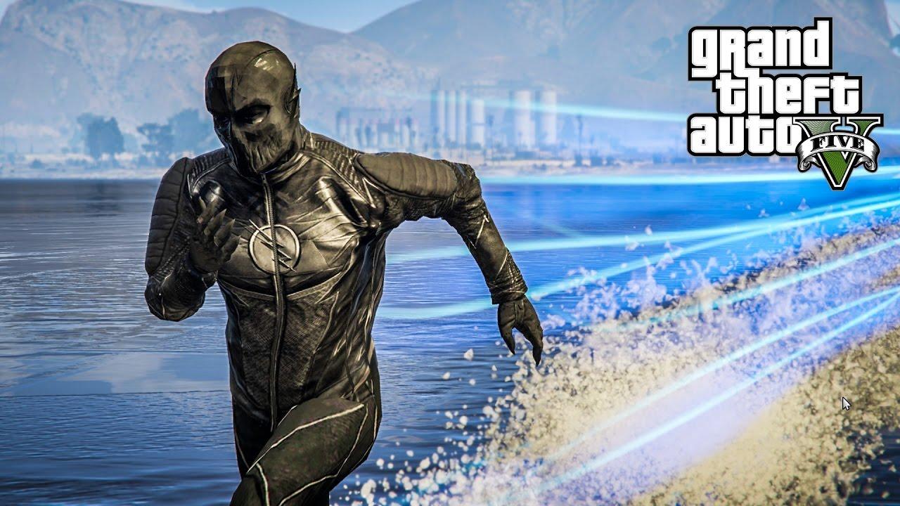 PojzPlaza - เรียกข้าว่าเดอะซูม !!! GTA V (The Flash mod)